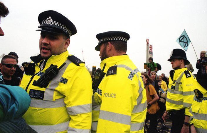 xr protest police arrest