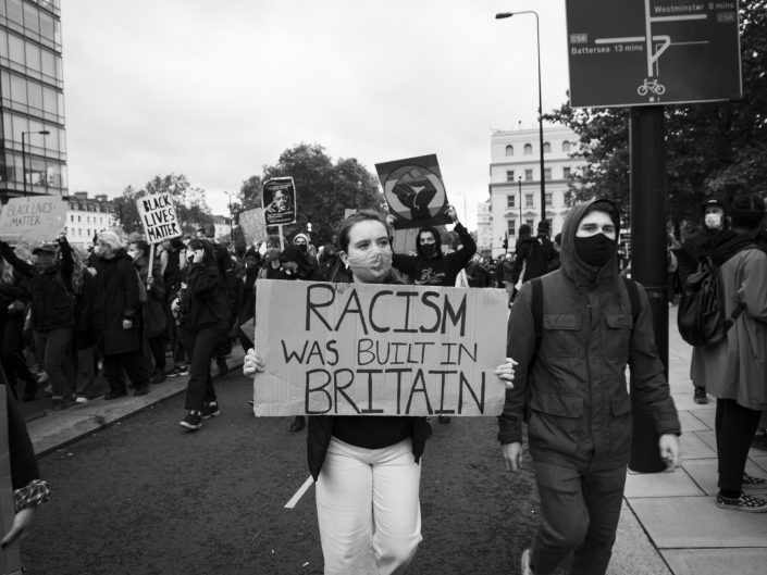 racism was built in Britain